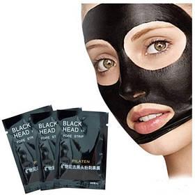 Маска-пленка для кожи лица Pilaten против черных точек Black Head Pore Strip