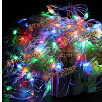 120 разноцветных LED веб-чистая фея водонепроницаемый света на Рождество