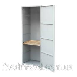 Шкаф кухонный для хранения хлеба из нержавеющей стали