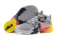 Кроссовки Nike Zoom LeBron Soldier 9 Grey