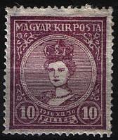 Венгрия 1916 Sc#104 MH