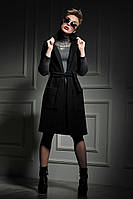 Жилет-пальто Дольче чёрного цвета