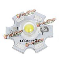1-3W алюминий сплав шарика светильника опорная пластина 3.2-3.4 в