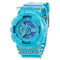 Часы женские наручные Casio G-Shock AAA GA-110 Light Blue