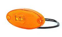Фонарь светодиодный габаритный боковой WAS 308p (оранжевый), фото 1