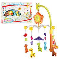 Музыкальная карусель с игрушками Bambi FS 34519