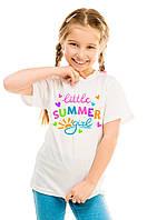 """Детская футболка """"Little summer girl"""""""