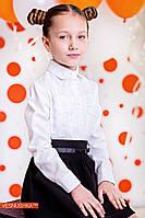 Блузка для девочки школьная р 140, 152 см