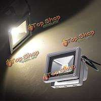10Вт теплый белый LED Свет потока лампы сад черный DC 12 В