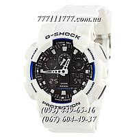 Часы мужские наручные Casio G-Shock AAA GA-100 White-Black