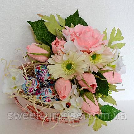 "Подарок из конфет ""Sweet box"", фото 2"