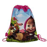 """Рюкзак-мешок """"Маша и медведь"""" 1"""