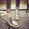 Туфлі на шнурівці в 3-х кольорах