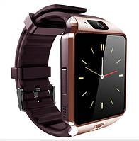 Умные часы Smart watch NW09 Newsday IPS gold+coffee золото+кофейный