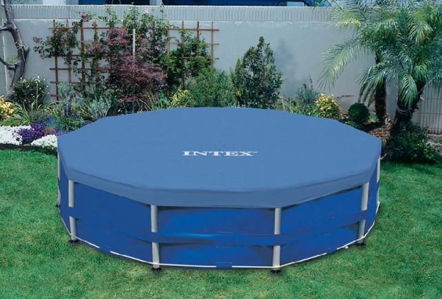 Тент для каркасного бассейна 305 см Intex 28030 (58406)