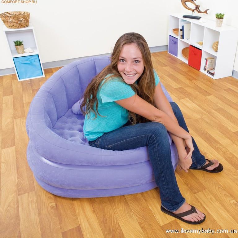 Надувне крісло Intex 102х91х65 см (68563)