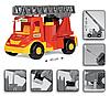 Игрушечная машинка Пожарный автомобиль серии Multi Truck Wader (32170), фото 4