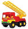 Игрушечная машинка Middle Truck пожарная, фото 4