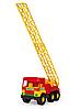 Игрушечная машинка Middle Truck пожарная, фото 5