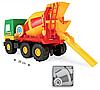 Игрушечная бетономешалка Middle Truck, фото 6