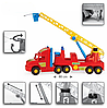 Игрушечная машинка Пожарная машина из серии Super Truck Wader (36570), фото 2