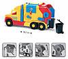 Игрушечная машинка Мусоровоз маленький серии Super Truck Wader (36580), фото 3