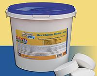 Медленно растворимые таблетки хлора Crystal Pool Slow Chlorine Tablets Large, 1 кг (2201)