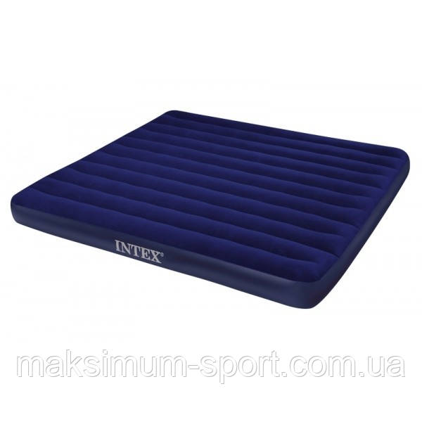 Надувной матрас Intex Twin Comfort 191x99x48cm + насос 66946