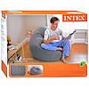 Надувне крісло Intex 107х104х69 см (68579), фото 2