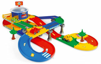 Детская парковка МегаГараж Wader (53130)