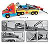 Игрушечная машинка Тягач-эвакуатор для спортивных автомобилей серии Super Truck Wader (36620), фото 5