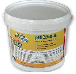 Crystal Pool pH Minus (1101) (сухая кислота)