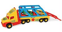 Игрушечная машинка Тягач-автовоз из серии Super Truck Wader (36640)