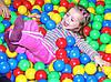 Шарики (мячики) для сухого бассейна мягкие, d=7,2 см, фото 4