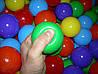 Шарики (мячики) для сухого бассейна мягкие, d=7,2 см, фото 5