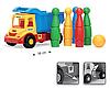Игрушечная машинка Грузовик с кеглями серии Multi Truck Wader (32220,39220), фото 2