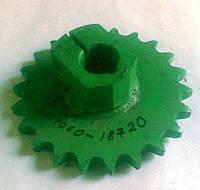 Звездочка привода битера проставки РСМ 3518060-18720
