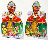 Упаковка для новогодних подарков Святой Николай 500г. размер 15*7,5*h15(см.), фото 1