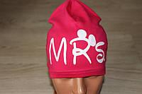 трикотажная шапка для девочек (можно разные цвета)