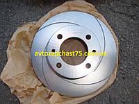Диск тормозной  ВАЗ 2101-2107  c канавкой производство Автореал, Россия