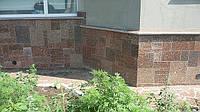 Дизайн из камня брекчия гранит в Житомир Киев