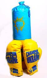 Боксерська груша Champion of Ukraine середня Danko toys