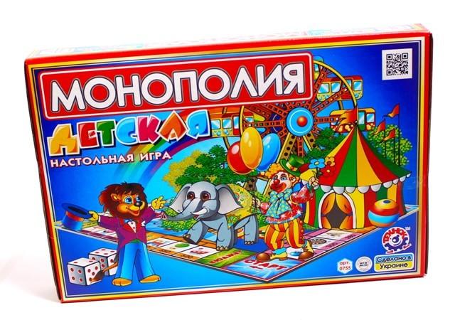 Настольная игра Детская Монополия Технок (0755)