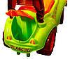 Машинка каталка Автомобиль для прогулок (3428) зеленая, фото 3