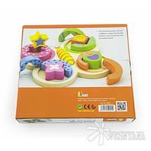 Пазл Viga Toys Бабочка 59924, фото 3