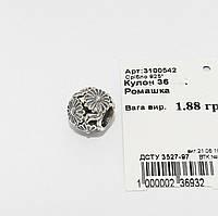 Серебряная бусина для Pandora 3100542