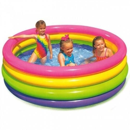 Дитячий надувний басейн Intex 168х168х46 см (56441)