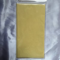 Бумага тишью (папиросная) 50х50см 50 листов желтый