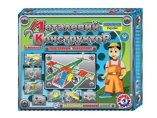 Конструктор метал  Воздушный транспорт Технок (1042)