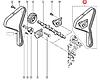 Комплект натягувач + ремінь ГРМ на Renault Trafic II 2001->2006 1.9 dCi — Renault (Оригінал) - 7701477048, фото 9